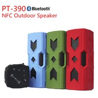 Cheap PT-390 Outdoor Shower Speaker Bluetooth Speaker Protable Waterproof Sopport TF Card & FM Radio With Retails Package Free Shipping