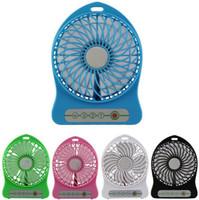 Wholesale Portable Mini USB Fan Indoor Outdoor Kids Fans Charging Battery Powered Handheld cooler fan Cooling table Fan