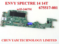 Wholesale Original laptop motherboard for HP EV Spectre T HM65 i5 M Notebook PC systemboard Days Warranty