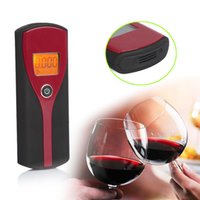 advanced semiconductor - Professional Digital LCD Display Alcohol Breathalyzer Breath Tester With Audible Alert Advanced Semiconductor Oxide Alcohol Sensor