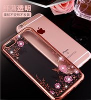 apple manufacturing - iPhone64 phone shell protective shell plating TPU while drilling all inclusive soft shell drop resistance diamond manufacture