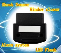 alarm canbus - New CANBUS OBD Shock Sensor LED Flash Car Alarm security system window closer function for Chevrolet Cruze Orlando