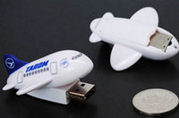 airplane usb stick - 5 Piece No Logo new Airplane USB Memory Stick USB Stick U Disk USB2 Mini Airplane USB Flash Drives