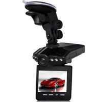 H198 voiture DVR enregistreur caméra automatique 6 LED HD 1080p vision nocturne infrarouge Vision nocturne universelle 2,5