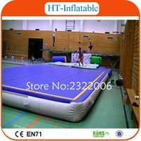 Wholesale x2x0 m Tumbling Air Track Inflatable Gym Air Track Inflatable Air Track For Sale