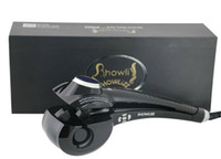 Wholesale 2015 new design black hair curler LCD Temperature Display showliss pro lcd hair curler