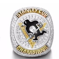 Wholesale 2016 Pittsburgh Penguins Stanley Cup Championship Ring Male fans ring as a gift