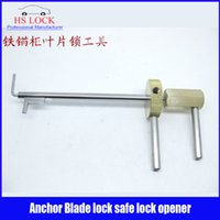 anchor setting tools - Hot sale Anchor blade Leave Lock Safe Locks Opener Locksmith tools Lock Pick Tools fast shipping