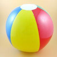 beach ball balloon - Beach Ball Colour Striped Rainbow Beach Ball Outdoor Beach Ball Water Sports Balloon Best Gift For Kids cm