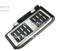 Wholesale Car Foot Rest pedals Plate Cover for Volkswagen VW GOLF GTi MK7 up LHD