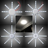 Wholesale Saving Energy LED celling lamp SMD white octopus Round kitchen lamp bedroom light led lamp ceiling lamps modern