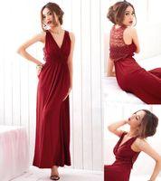 Wholesale Walkeasy Evening dresses lace long dress party dress colors F size
