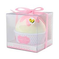 Wholesale Cup Cake Avocado Moisturizing Hand Cream Vitaminb5 Fruit Skin Defender Cream Pink Mini Cream Of Hands Skin Care Gift For Girl