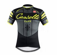 Wholesale New Cafe Team Cycling Suit Summer Short Sleeve Cycling Jerseys Set Ropa Ciclismo Quick Dry Bikes Racing Clothes Wears Padded Pants