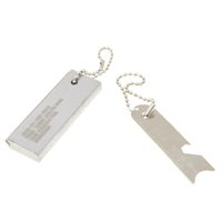 ferrocerium - Outdoor Emergency Survival Magnesium Block Flint Tooth Scraper Ferrocerium Stone Fire Starter Lighter Tool Kit H11068