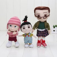 baby sister doll - Despicable Me inch Minions Sister Plush Toy Orphan Girl Cuddly Stuffed Animal Doll Baby Toys EMS