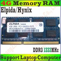 Wholesale High Quality Elpida Hynix Memory RAM PC3 S g GB g GB DDR3 MHz FOR Laptop Notebook PC PC3 G G No Package Box