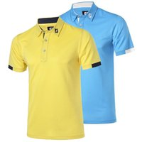 Wholesale 2016 latest golf t shirt polo golf shirts quick dry fashion summer golf wear men outdoor sports clothes colors