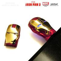 Wholesale High quality Metal golden silver USB Flash Drive Pen Drive Iron Man pendrive Flash Memory Stick Drives GB GB GB GB GB