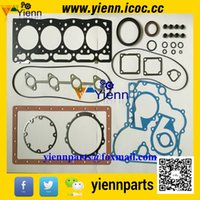 head gasket - Kubota V1505 B V1505 V1505BH engine overhual gasket kit upper lower set and head gasket For KX71H KX91 excavator