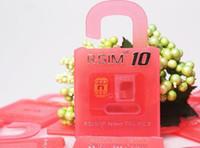 Wholesale Official Original R SIM RSIM10 R SIM10 SIM Card Perfect Unlock IOS x x RSIM for iphone plus S C S GSM CDMA WCDMA G G