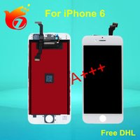 Wholesale For iPhone LCD Display With Touch Screen Digitizer Complete Lcd Display Assembly Free DHL Shipping