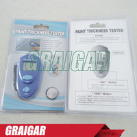 auto digital marketing - Mini pocket Digital Car auto Paint coating Thickness Tester meter Car painting thickness gauge EM2271 for second hand car market