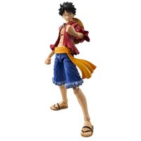 age animation - One Piece Cartoon Character Models Movable Animation Luffy Action Figures PVC Mix color Toys Fitted All Ages Gifts