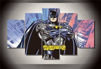 batman comic pictures - Hd Printed Comics Batman Group Painting Canvas Print Room Decor Print Poster Picture Canvas Ny Size NO