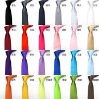 accessories neck - Mens Necktie Satin Tie Stripe Plain Solid Color Tie Neck Factory s Super Cheap Wedding Accessory