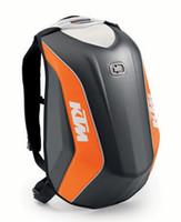 Wholesale 2016 new locomotive bag KTM Moto Racing Backpack Hard shell backpacks NO DRAG BAG MACH made of Polyester
