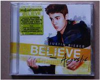 australian gift cards - Australian version Justin Bieber Justin Bieber believe Believe Acoustic CD Box Christmas Gift Card Seal