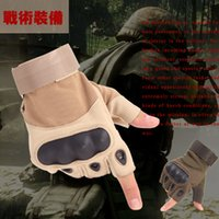 Wholesale O Half Finger Gloves cycling boxing motorcycle road bike Martial Arts Racing Gym Hunting Camping Hiking Outside Sports Glove Women Man