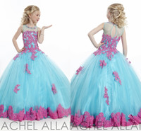 angels jewels - LOVELY SOFT TULLE BALL GOWN PAGEANT DRESS RACHEL ALLAN PERFECT ANGEL Girl Pageant Dresses HY00682