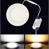 Wholesale LED Ceiling Panels Down Lights SMD2835 W W W W W W W LED Panel Light Dimmable Downlights Lighting CE UL CSA