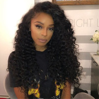 afro fashion - 2016 new like human hair wigs for black women wigs particularly fashion long afro kinky curly wigs high temperature synthetic Japanese fiber