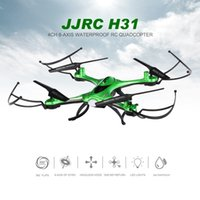 Wholesale Original JJRC H31 G CH Axis Gyroscope Waterproof RC Quadcopter Drones Bright LED With Remote Control Line Helicopter Toys RM5638