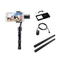 Wholesale DHL FEDEX free Zhiyun Z1 Smooth C Z1 Smooth c Axle brushless gimbal smartphone handheld stabilizer with GoPro Switch Plate
