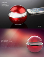 Wholesale VF student style stylish portable circular Bluetooth speaker mushrooms selection of gift Home Creative Business Speakers