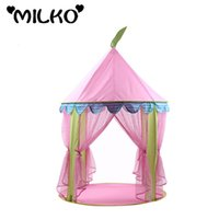 Wholesale Gift Princess Castle Tent Kid Portable Teepee PlayTent Children Toy Game House Indoor Outdoor Baby Folding Playpen Marquee Gift