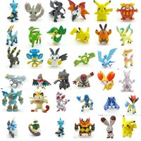 Wholesale 4 cm Japanese Poke figures set New poke mon pikachu charizard figurine figuras doll for kids party supply