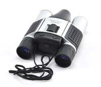 Wholesale 1 Mega Mini Digital Binocular Camera x Zoom Video Recorder Telescope Micro SD Card Support