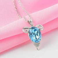aries females - Silver jewelry Sterling Silver Pendant Pendant Chain twelve constellation Aries female clavicle Austria crystal