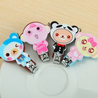 Wholesale Free ship pc New cute Cartoon nail clippers nail scissors finger cutter trimmer