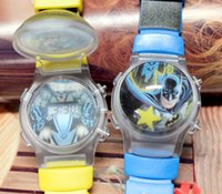 bats for kids - Batman Kid Watches Childrens Watch Bat Man Digital Silicone Band Flashing Water Polo Calendar Table for Children Boys Kids Students