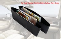 Wholesale Catch Catcher Box Caddy Car Seat Gap Slit Pocket Storage Seat Side Organizer for Vehicle Auto Car