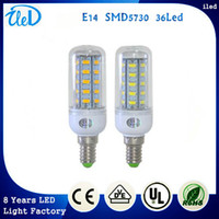 Wholesale High Lumen E14 Smd5730 Led Solar Led Pendant Lights V W Corn Ceiling Bulbs Downlight Lamps Chandelier Spotlight