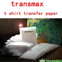 Wholesale light color t shirt heat transfer paper for cotton t shirt sheets
