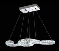 Wholesale 63CM New modern Chandeliers diamond Crystal Chandelier Light Pendant Lamp For Living Room lustres de sala de cristal