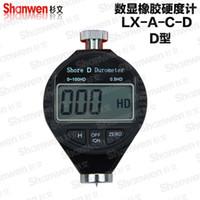 Wholesale Digital Shore hardness Durometer Digital Hardness Tester Hardness Meter Shore D for Hard rubber resin acrylic glass fibers